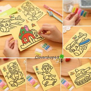Combo 5 Tranh Cát Giúp Trẻ Học Tập Sáng Tạo thumbnail