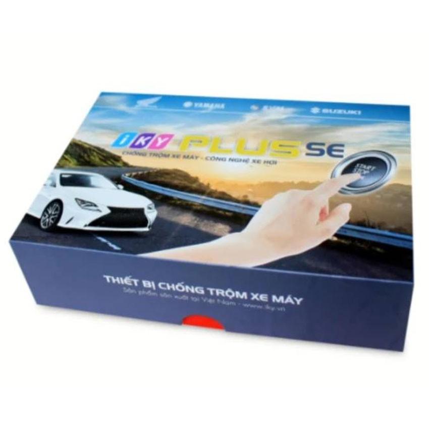 Khóa chống trộm xe máy cao cấp IKY PLUS SE (Không dùng chìa khóa khởi động, ĐK qua smartphone..)