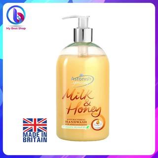 Nước rửa tay hương sữa tươi và mật ong Astonish C4550, 500ml, Thương hiệu Anh Quốc - infomybestshop thumbnail