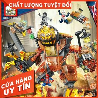 Bộ lego 6in1 siêu anh hùng mã jx1167