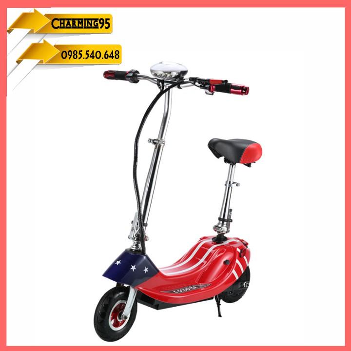 Xe scooter điện , xếp gọn, bánh 8′ chạy 20>25km RE0456