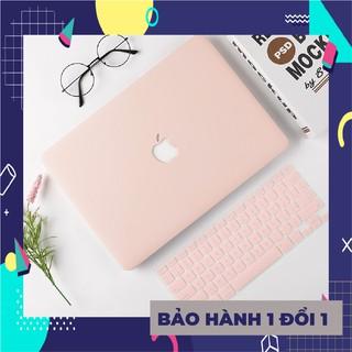 [MÃ MACHM10K giảm 10k đơn 20k] Combo ốp + phủ phím Macbook Machome các màu