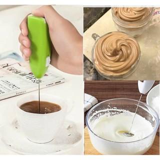 Cây khuấy cà phê, trứng tạo bọt tiện lợi thumbnail