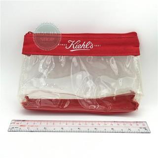 Kiehl's Bóp Nhựa Đựng Mỹ Phẩm Trong Suốt