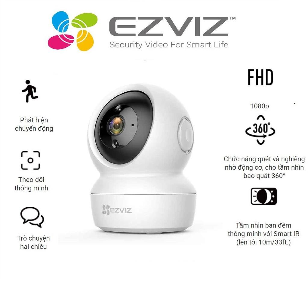 Camera Wifi dòng P/T EZVIZ_C6N 1080P - Hàng chính hãng