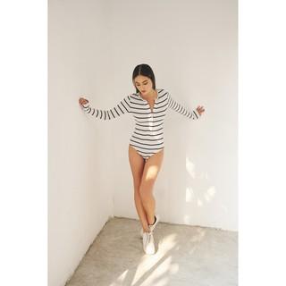 NARCOTICS. Mia Bodysuit - bodysuit tay dài cúc gài thumbnail