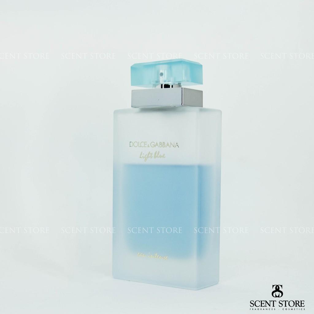 [Mã COSHOT24 hoàn 8% xu đơn 250K] Scentstorevn - Nước hoa D&G light blue eau intense women EDP