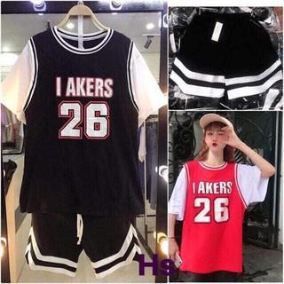 Bộ quần áo thể thao, quần áo bóng rổ nam nữ. thumbnail