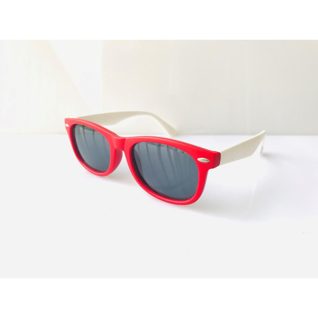 Kính trẻ em KAT-T1761 mắt kính an toàn chống UV400 tròng mắt chống chói gọng siêu bền