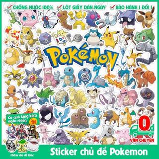 151 mẫu sticker hình dán chủ đề hoạt hình Bửu Bối Thần Kỳ phần 1 gen 1 phiên bản đầu tiên