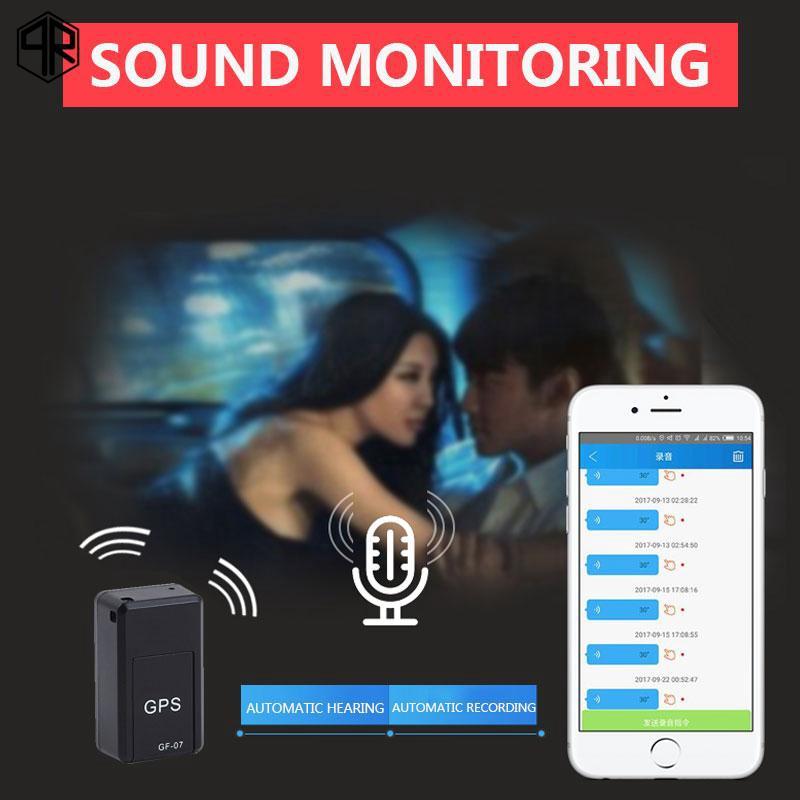 QR GF-07 Car Locator GSM Tracking Device Mini TF Card Magnetic Motor Vehicle