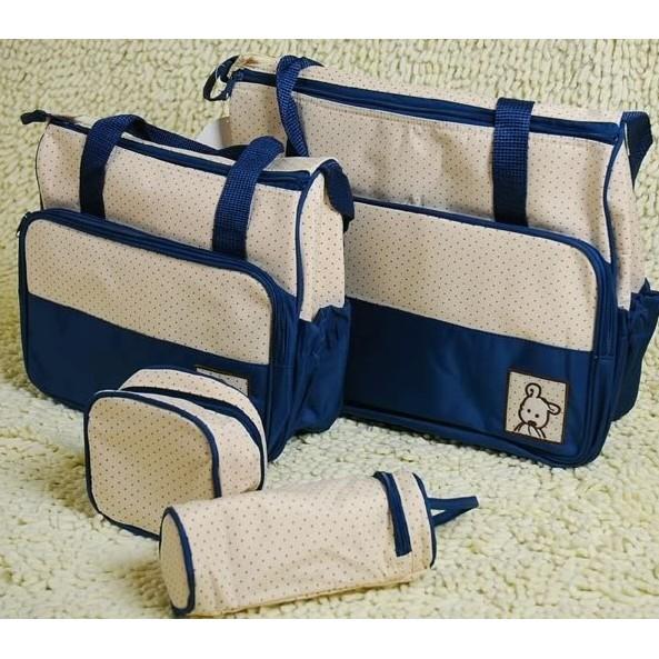Túi đựng đồ cho mẹ và bé 5 chi tiết VRG00859- xanh navy - 2826917 , 731573046 , 322_731573046 , 185000 , Tui-dung-do-cho-me-va-be-5-chi-tiet-VRG00859-xanh-navy-322_731573046 , shopee.vn , Túi đựng đồ cho mẹ và bé 5 chi tiết VRG00859- xanh navy