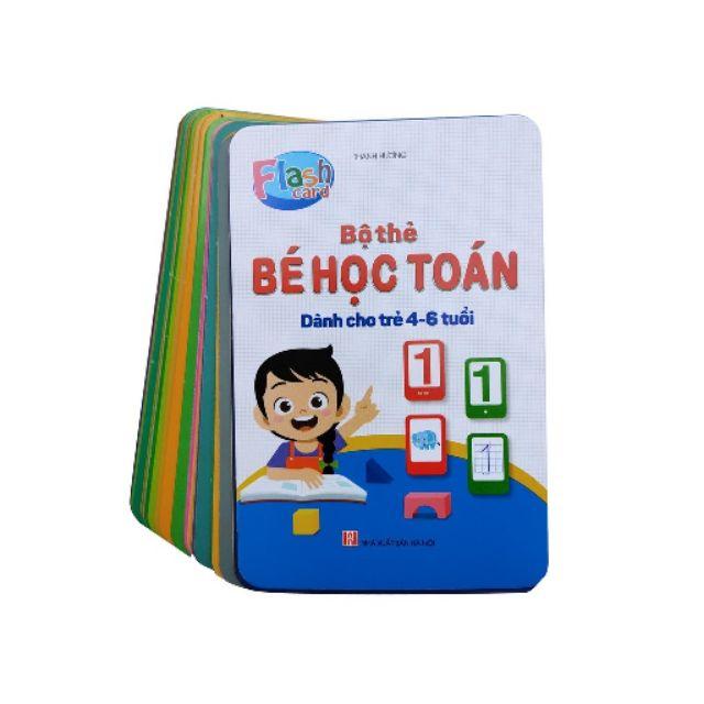 ❤️Bộ thẻ bé học toán dành cho trẻ 4-6 – flash card❤️