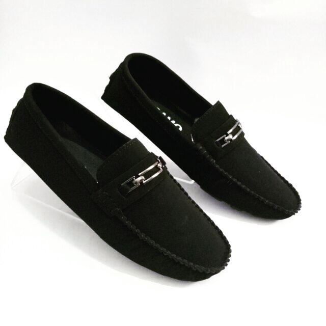 Giày lười nam giày mọi nam vải nỉ X86fashion-MN01