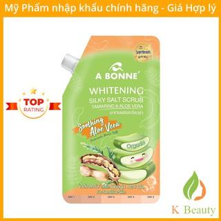 Muối Tắm Trắng Da A Bonne Whitening Silky Salt Scrub - Me và Nha Đam 350g (Có Vòi) - [Hàng Cao Cấp] - Thái Lan thumbnail