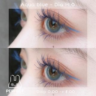 Link 1 (Giá 1 Chiếc) Lens Aqua Blue (0.00 -> 8.00) 14.0 – Kính Áp Tròng