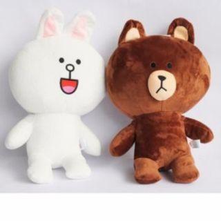 Gấu bông Brown -Cony 40cm siêu rẻ [129k/cặp ]