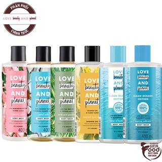 Sữa Tắm Chiết Xuất Từ Thiên Nhiên Love Beauty And Planet Body Wash thumbnail