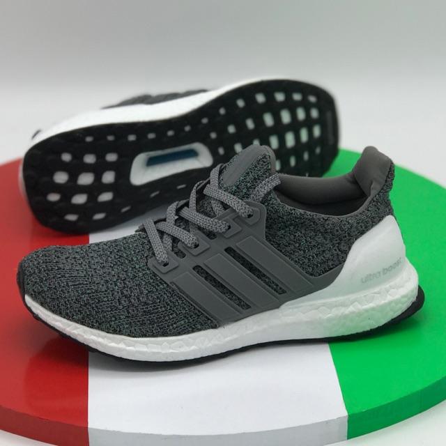 [ giá sale ] giày thể thao ub trắng xanh _ form chuẩn ôm chân [ tặng