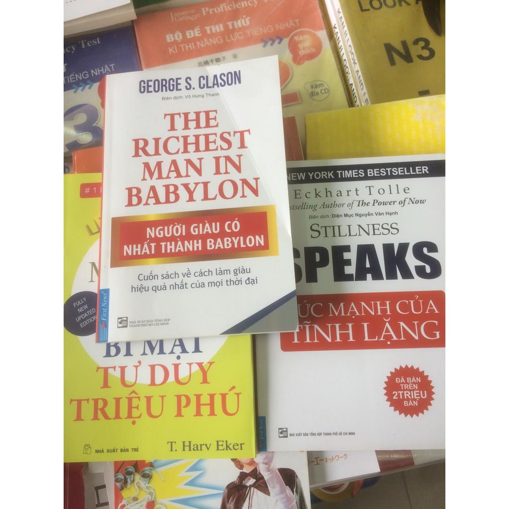 combo 3 cuốn người giàu nhất hành tình-bí mật tư duy triệu phú-sức mạnh của thinh lặng