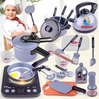 Bộ Đồ Chơi Nấu Ăn 36 Món Kitchen Cho Bé Tập Làm Đầu Bếp