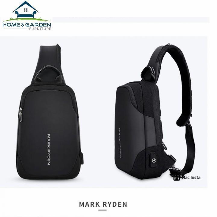 Túi đeo chéo Mark Ryden cao cấp chống nước chống bám bụi