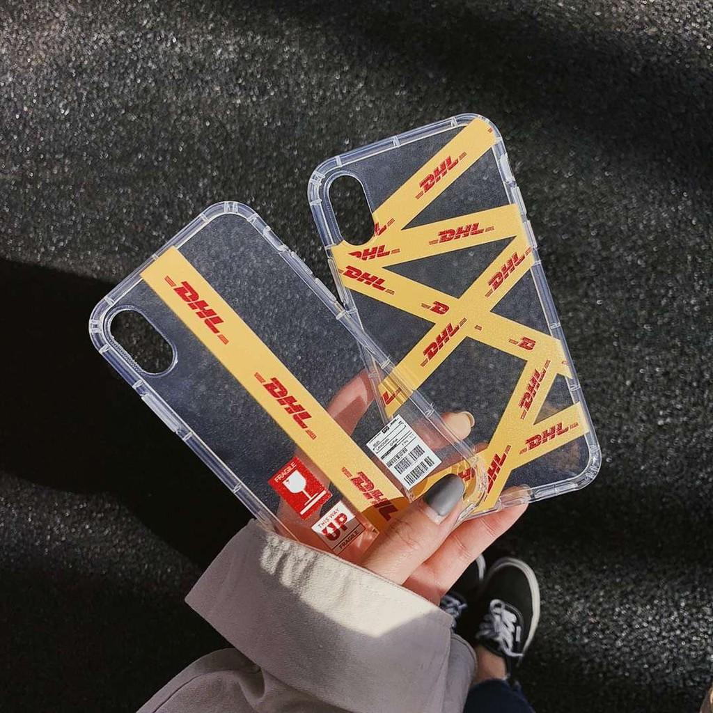 Ốp điện thoại in chữ DHL thời trang cho Iphone11 11Pro 11Promax X XR XS max 6s 7 8Plus Ốp iphone