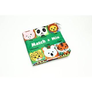 Đồ Chơi – Sách Vải Match & Mix – Funny Zoo