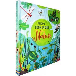 Sách: Usborne Look Inside Nature - Cuốn sách lật mở tìm hiểu về thiên nhiên