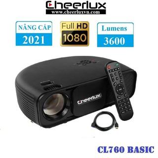 Máy chiếu Full HD Cheerlux CL760, đô sa ng 3600 Lumens, zoom điê n tư , xem phim, bo ng đa cư c ne t. BH 12 tha ng. thumbnail