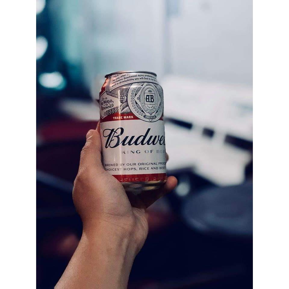 Bia Budweiser lon 300ml