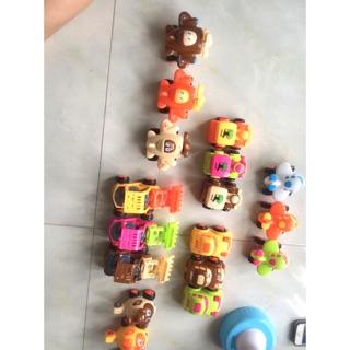 Bộ 6 xe đồ chơi Rika ngộ nghĩnh chạy trớn