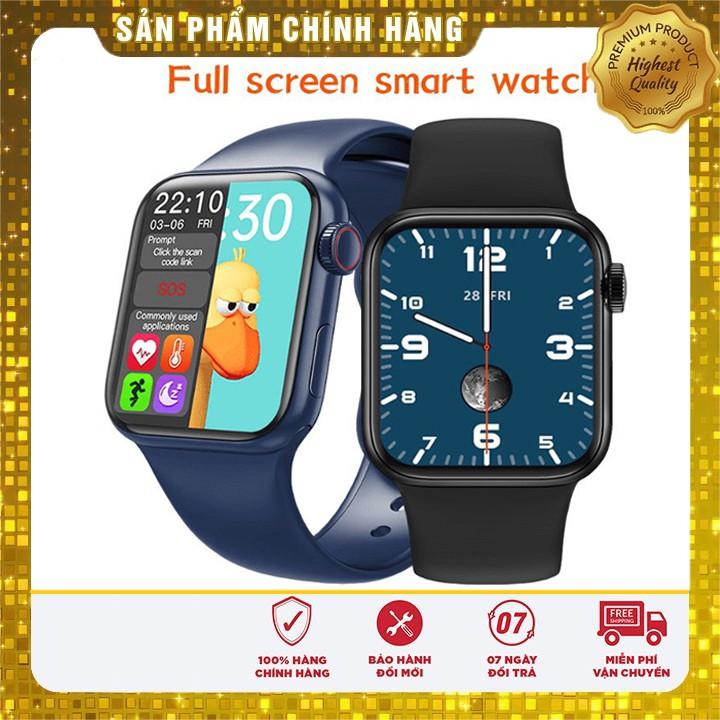 Đồng Hồ Thông Minh HW12, Smart Watch Series 6 Bản cao cấp nhất, Màn hình Đẹp nét có núm xoay [Bảo Hành 12 Tháng]