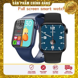 Đồng Hồ Thông Minh HW12, Smart Watch Series 6 Màn hình tràn viền Núm xoay đầy đủ chức năng nghe gọi theo dõi sức khỏe