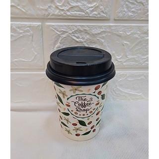 50 Ly Giấy In Hình Coffee 14oz 360 ml Có Nắp Ly giấy cafe Ly giấy đựng cà phê Cốc giấy Cốc giấy cafe thumbnail