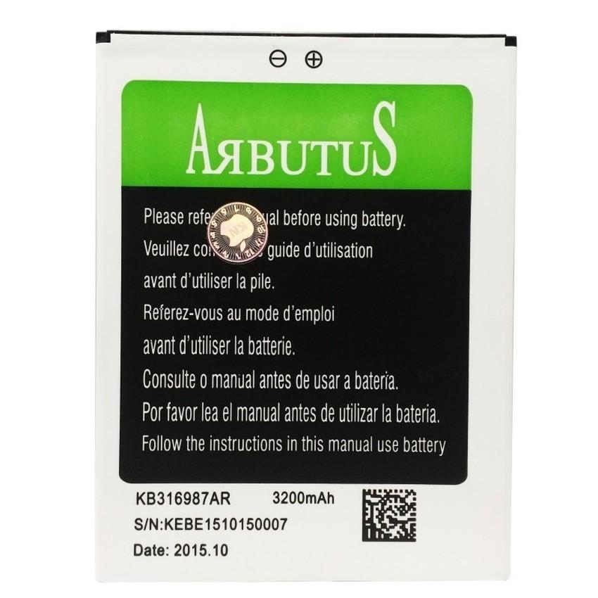 Pin dành cho Arbutus Ar6 Plus 3200mAh (Đen) - Hàng Nhập Khẩu