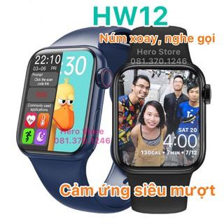 Đồng hồ thông minh HW12 đổi được hình nền hỗ trợ theo dõi sức khỏe thumbnail