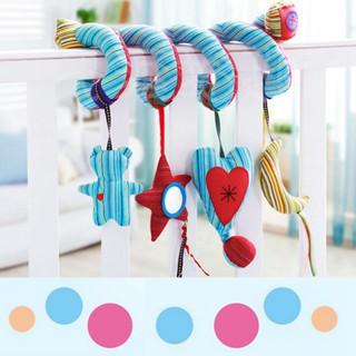 💕Se7en Baby Bed Stroller Star Moon Cute Animal Handbells Toys Bedding Sets