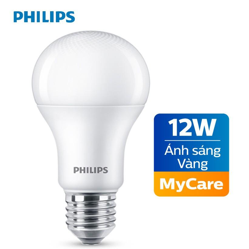 Bóng đèn Philips LED MyCare 12W 3000K E27 A60 - Ánh sáng vàng