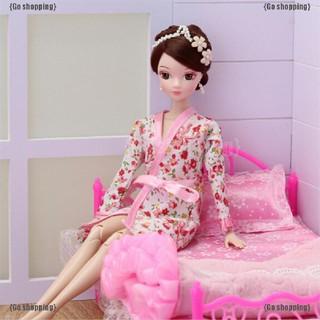 Go shoppping Đồ Ngủ In Hoa Cho Búp Bê Barbie thumbnail