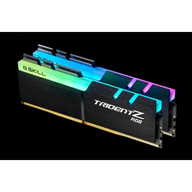Ram G.Skill TRIDENT Z RGB – 16GB (8GBx2) DDR4 3000GHz – F4-3000C16D-16GTZR-Hàng Chính Hãng Giá chỉ 2.690.000₫