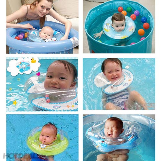 Phao đỡ cổ khi bơi an toàn cho bé yêu