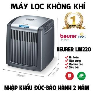 FREESHIPMáy lọc không khí, tạo ẩm Beurer LW220 - Nhập Khẩu Đức Bảo Hành 2 Năm