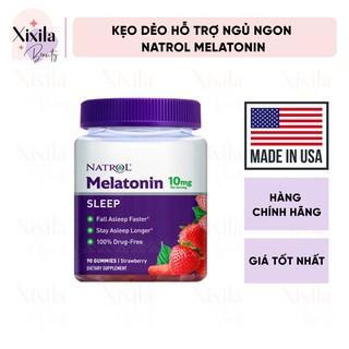 [Mã COS1505 giảm 8% đơn 300K] Kẹo dẻo hỗ trợ giấc ngủ Natrol Melatonin Sleep Gummies 10mg 90 viên thumbnail
