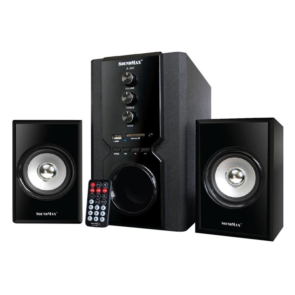 [Mã ELMS4 giảm 7% đơn 500K] Loa Vi Tính SoundMax A-960/2.1 40W Tích Hợp Bluetooth 4.0 - Hàng Chính Hãng