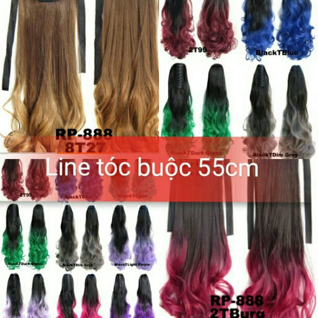 line tóc buộc 55cm