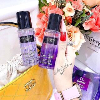 Cặp 2 chai Xịt thơm toàn thân Victoria s Secret 75ml Auth USA - Xịt thơm toàn thân thumbnail