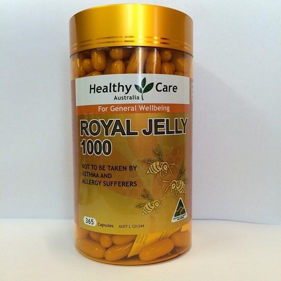 Sữa ong chúa Healthy Care Royal Jelly 365 viên - 2885683 , 119828701 , 322_119828701 , 1100000 , Sua-ong-chua-Healthy-Care-Royal-Jelly-365-vien-322_119828701 , shopee.vn , Sữa ong chúa Healthy Care Royal Jelly 365 viên