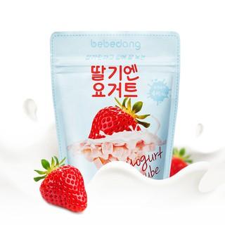 Sữa chua khô, sữa chua hoa quả sấy lạnh Bebedang Hàn Quốc - Vị Dâu thumbnail