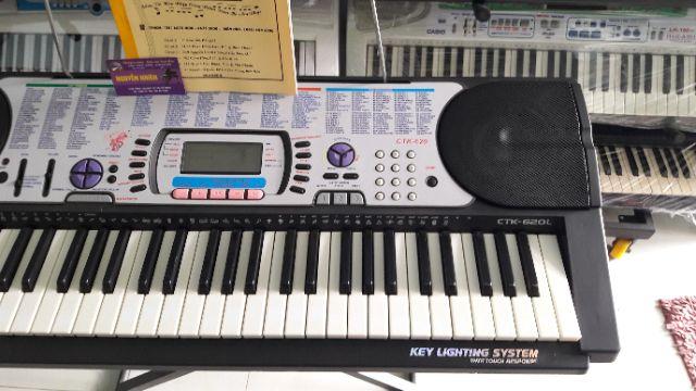 đan Organ Casio Ctk 620l Mới 98 Trọn Bộ Shopee Việt Nam